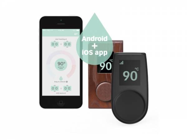 Wolff Finnhaus externe Steuerung für Premium Saunaöfen mit App