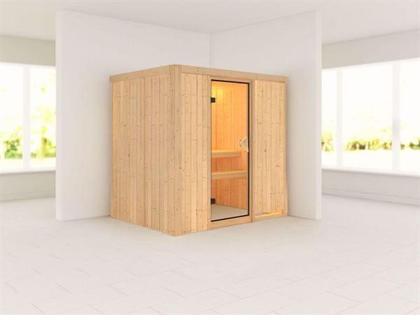 Bodin - Karibu Sauna ohne Ofen - ohne Dachkranz -