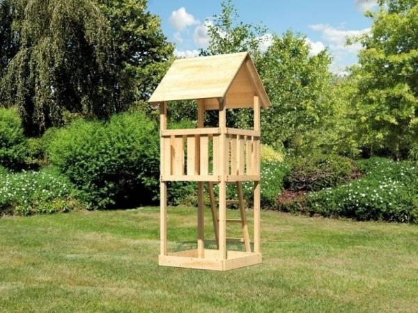 Akubi Spielturm Lotti naturbelassen