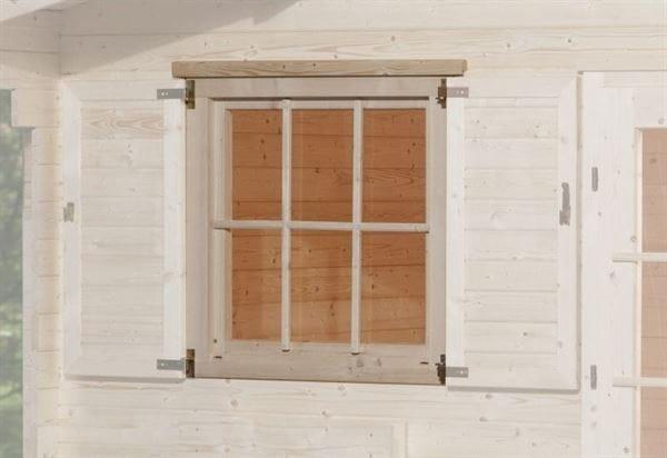 Weka Einzelfenster 45 mm 907 x 910 mm