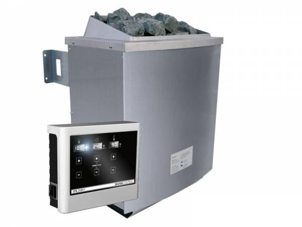 Wolff Saunaofen 9,0 kW externe Steuerung mit Steinen