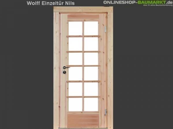 Wolff Finnhaus Einzeltür Nils 34