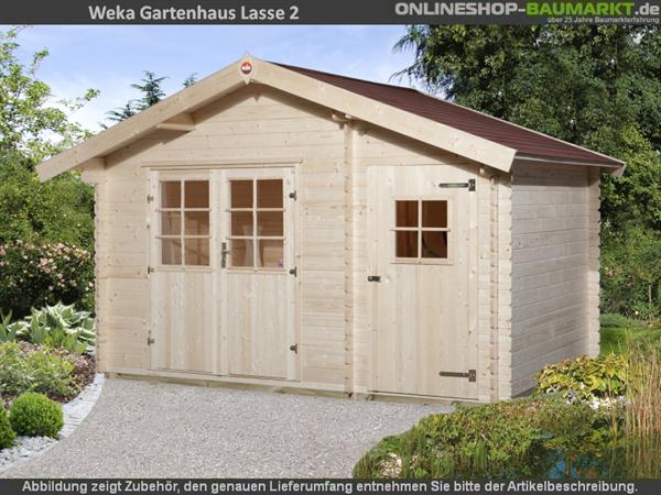 Weka Gartenhaus 253 Gr. 2 natur