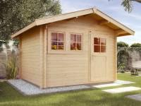 Weka Gartenhaus 139 Gr. 1 Vordach 60 cm