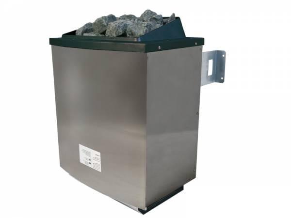 Karibu 9,0 kW Saunaofen Grundkörper für externe Steuerung und Steine