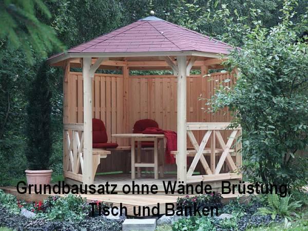 Wolff Finnhaus Pavillon Kreta 6 Grundbauset