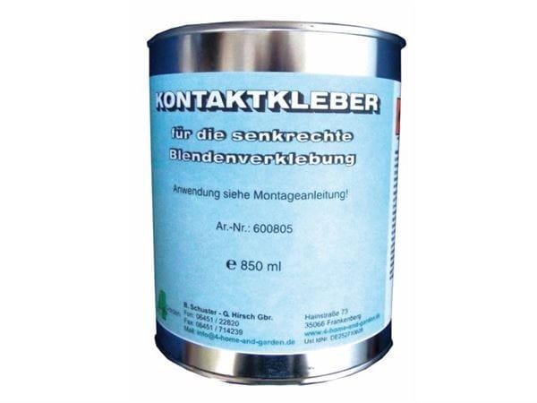 Blendenkleber für EPDM-Folien 0,75 kg, für ca. 3 qm Blende