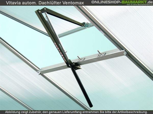 Vitavia automatischer Dachlüfter Ventomax grün