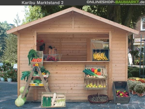 Karibu Verkaufshaus / Marktstand 19 mm Gr. 2
