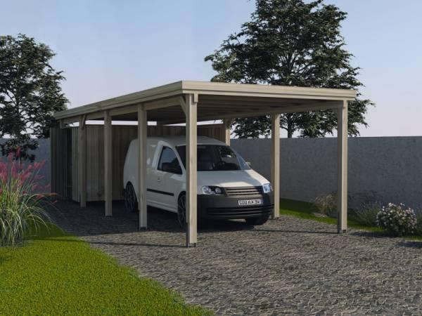 Weka Carport 617 Größe 3 ohne Dachplatten