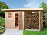 Weka Gartenhaus 170 Größe 4 mit Schleppdach