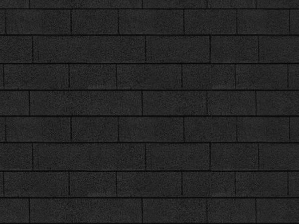 Karibu Dachschindeln Rechteck schwarz 1 Paket