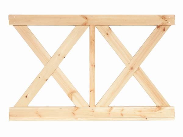 Wolff Finnhaus Wandelement X klein Kreta 6