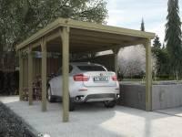 Weka Carport 617 Größe 2 ohne Dachplatten