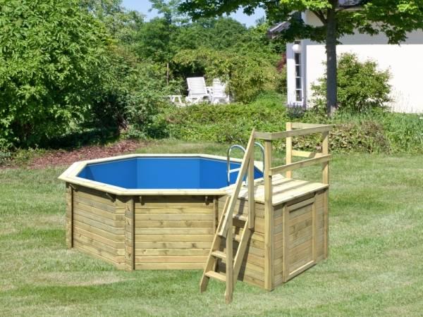 Karibu Pool Modell 1 Variante B im Sparset Komfort