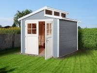 Weka Gartenhaus 226 Größe 2 grau