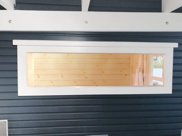 Wolff Finnhaus Einzel-Fenster weiß festehend