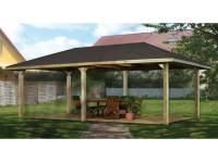 Weka Pavillon Gartenoase 651 D Größe 2