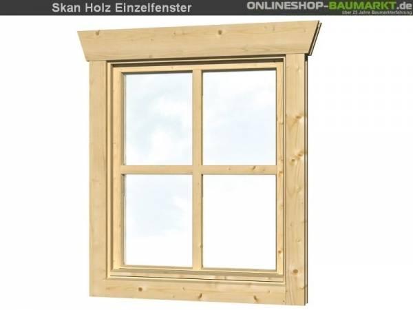 Skan Holz Einzelfenster 28 mm, Anschlag links