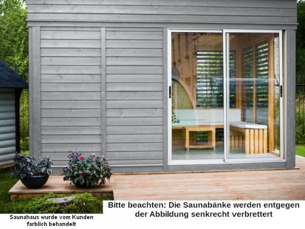 Wolff Finnhaus Sauna Paradiso 4x3 (2-Raum)