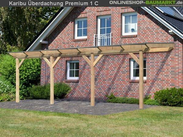 Karibu Terrassenüberdachung Premium Modell 1 Gr. C