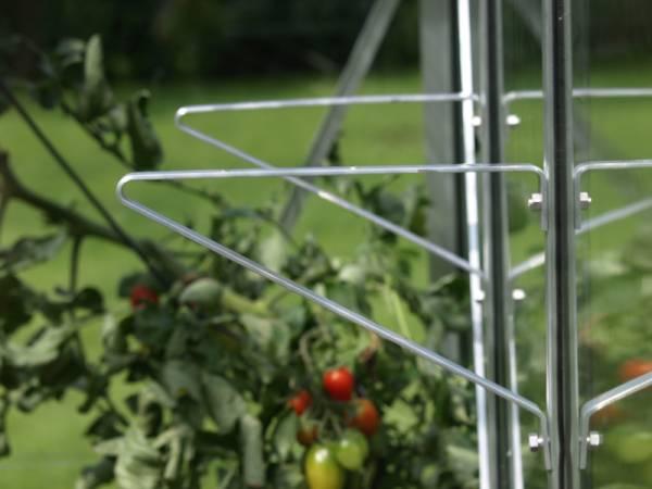 Vitavia Regalträger Aluminium blank eloxiert