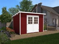 Weka Gartenhaus 219 Größe 2 schwedenrot 28 mm