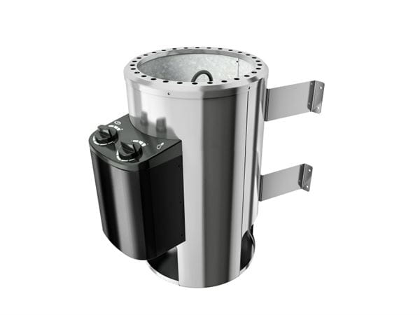 Karibu Aktions-Saunaofen Plug & Play 3,6 kW integrierte Steuerung steckerfertig