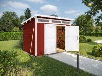 Weka Gartenhaus 264 Gr. 1 ,21 mm, schwedenrot
