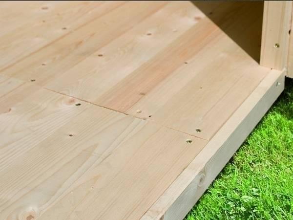 Fußboden Sockelmaß 340 x 280 cm