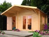 Wolff Finnhaus Gartenhaus Caro 34 Modern