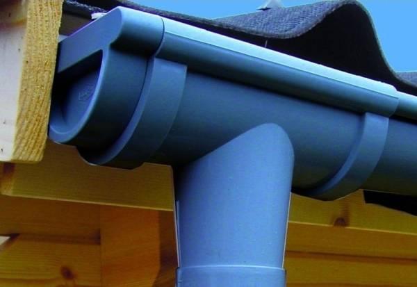 Dachrinnen Set RG 80 anthrazit 8x150 cm 8-Eck-Dach