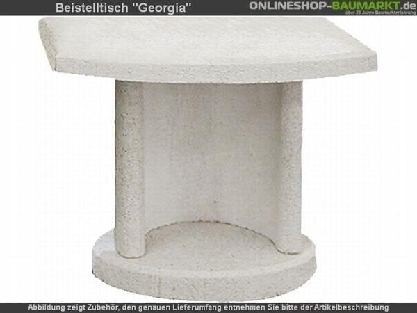 Buschbeck Beistelltisch Georgia weiß