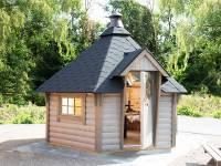 Wolff Finnhaus Grillkota 9 de luxe Grundset