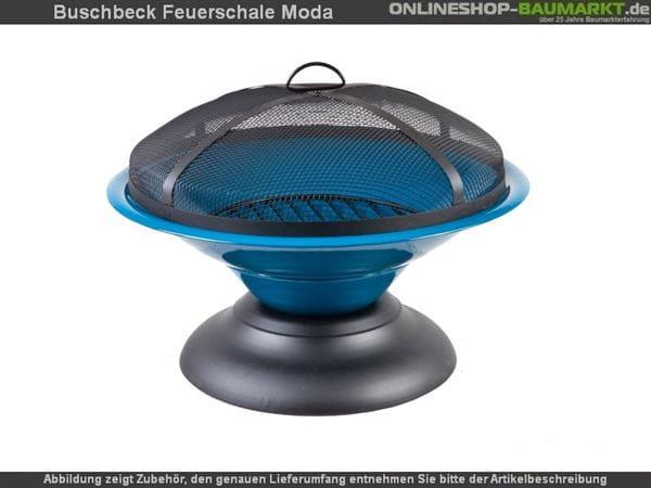 Buschbeck Feuerschale Moda Blau