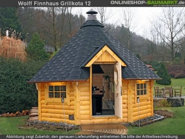 Wolff Finnhaus Grillkota 12-A Grundset