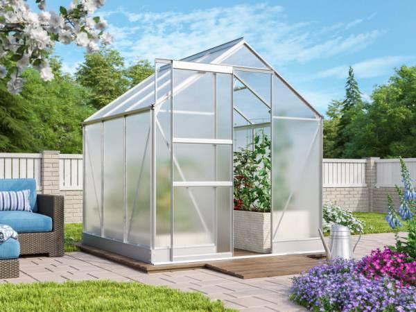 Vitavia Gewächshaus Apollo 3800 HKP 6 mm Alu