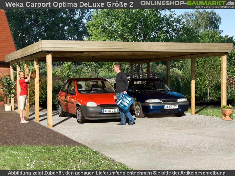 Weka Carport 609 Grosse 2 Kdi Carport Mit Stabiler Und Einfach Zu