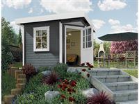 Weka Gartenhaus 5-Eck-Haus 213 Gr 1 anthrazit