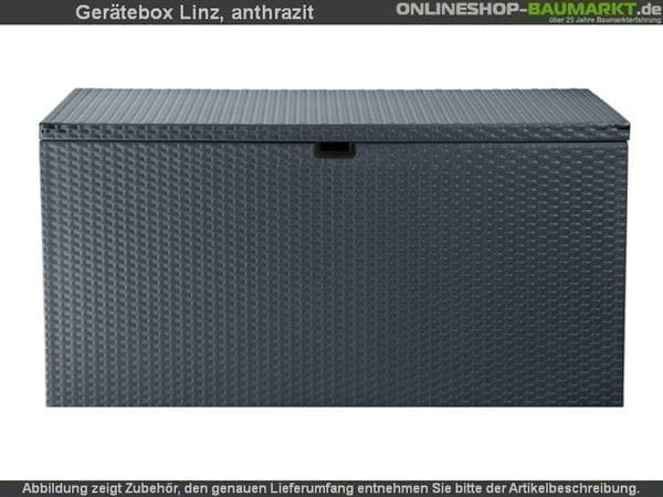 Pergart Gerätebox Linz anthrazit