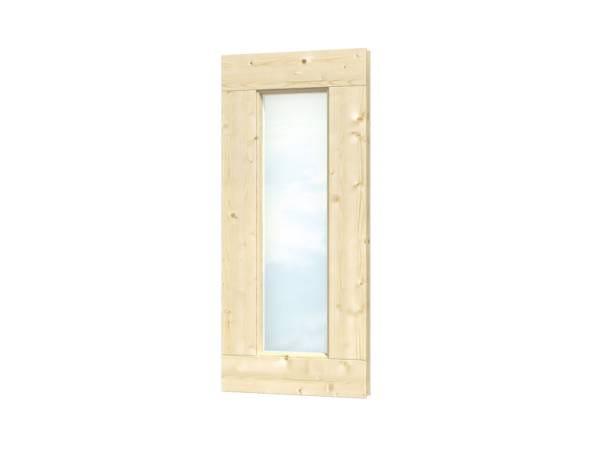 Skan Holz Einzelfenster rechteckig feststehend