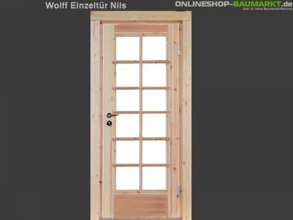 Wolff Finnhaus Einzeltür Nils 28
