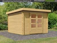 Karibu Woodfeeling Gartenhaus Bastrup 5