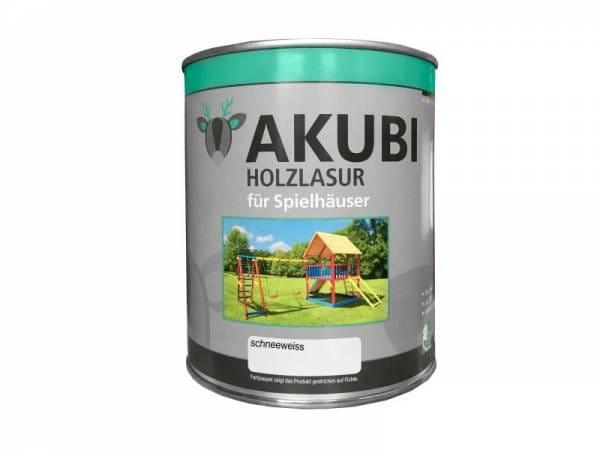 Akubi Farbe Schneeweiß 750 ml