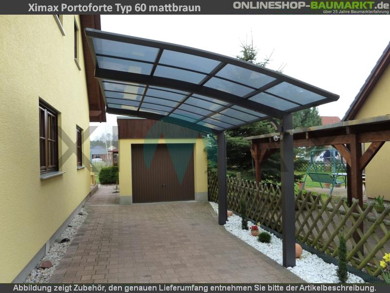 Design-Carport der Portoforte-Serie aus hochwertigem Material mit 10 ...