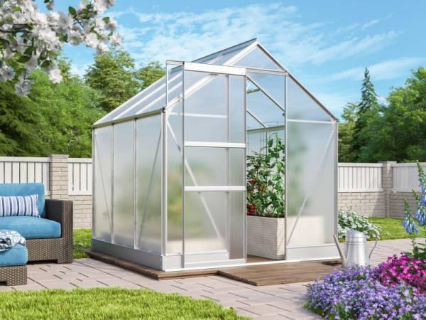 Vitavia Gewächshaus Apollo 3800 HKP 4 mm Alu