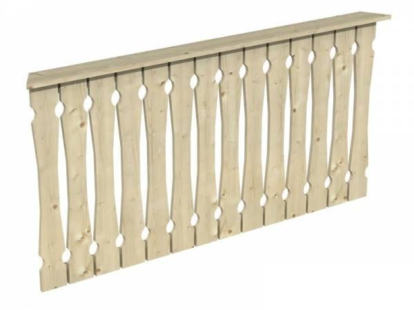 Skan Holz Brüstung für Pavillons 180 cm Balkonschalung