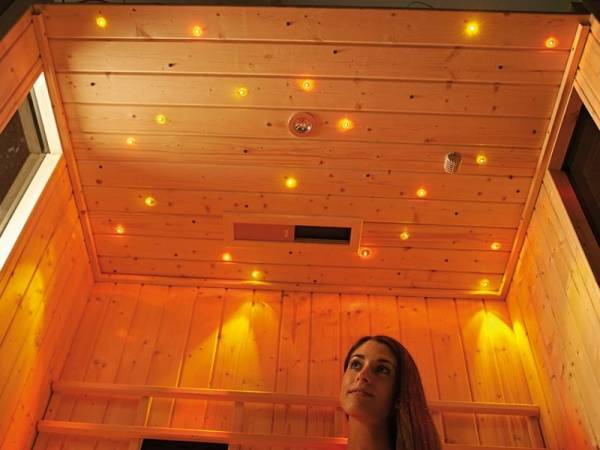 Weka Sauna Farbvision Set B mit Bedienteil