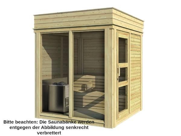 Wolff Finnhaus Sauna Paradiso 2x2