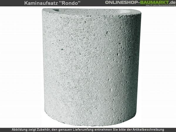 Buschbeck Kaminverlängerung für Rondo weiß